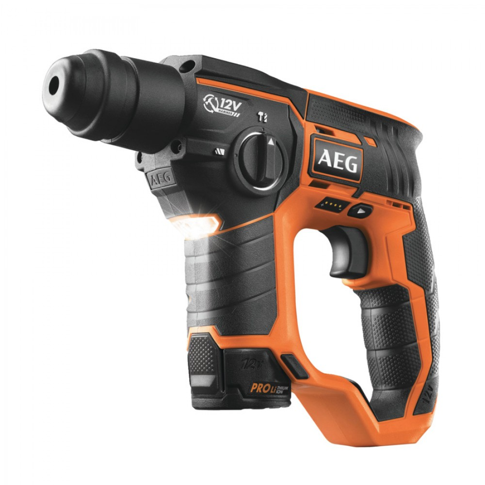 AEG 12 V 2 MODE SDS PLUS ROTARY HAMMER [BBH 12 LI]