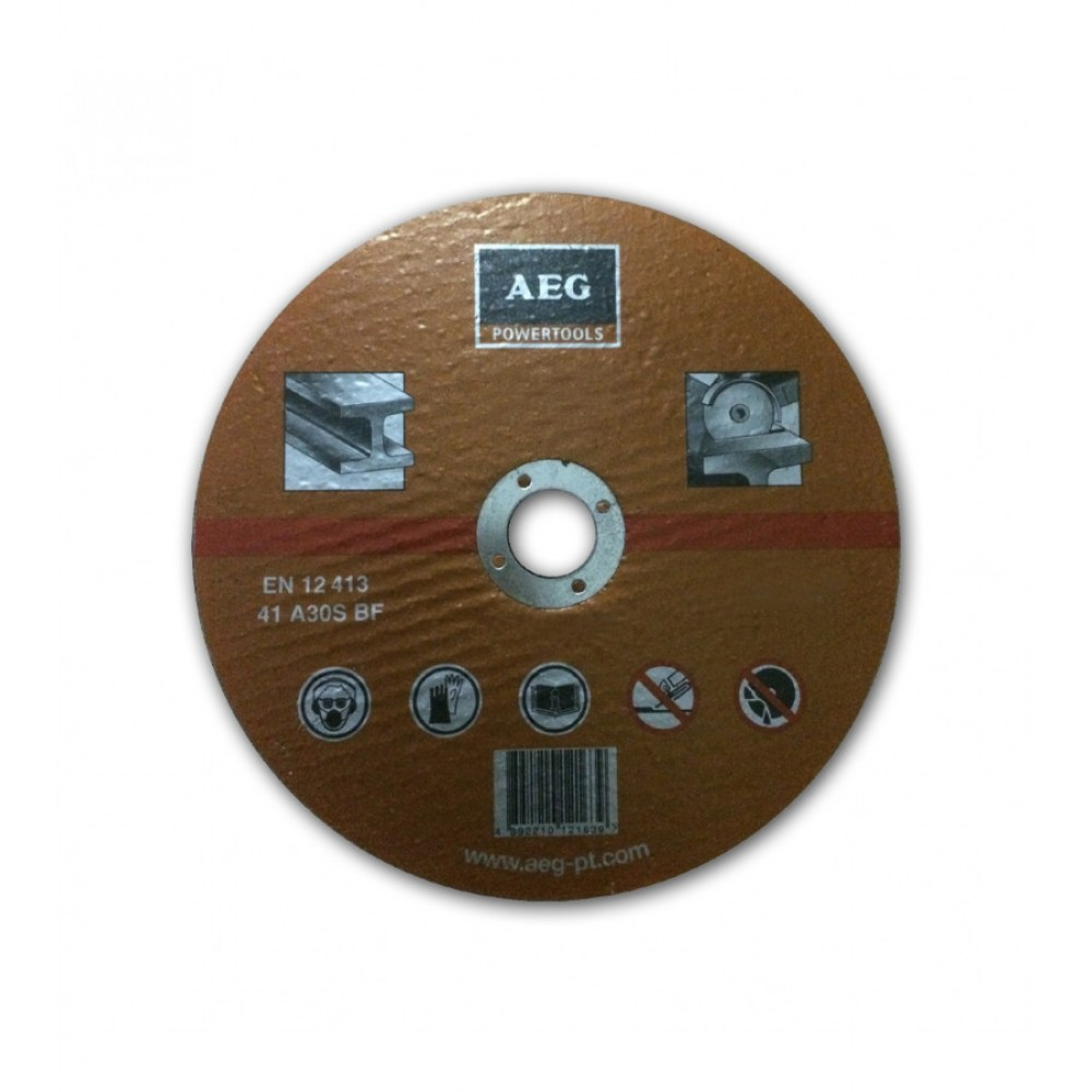 AEG METAL CUTTING DISC 230MM