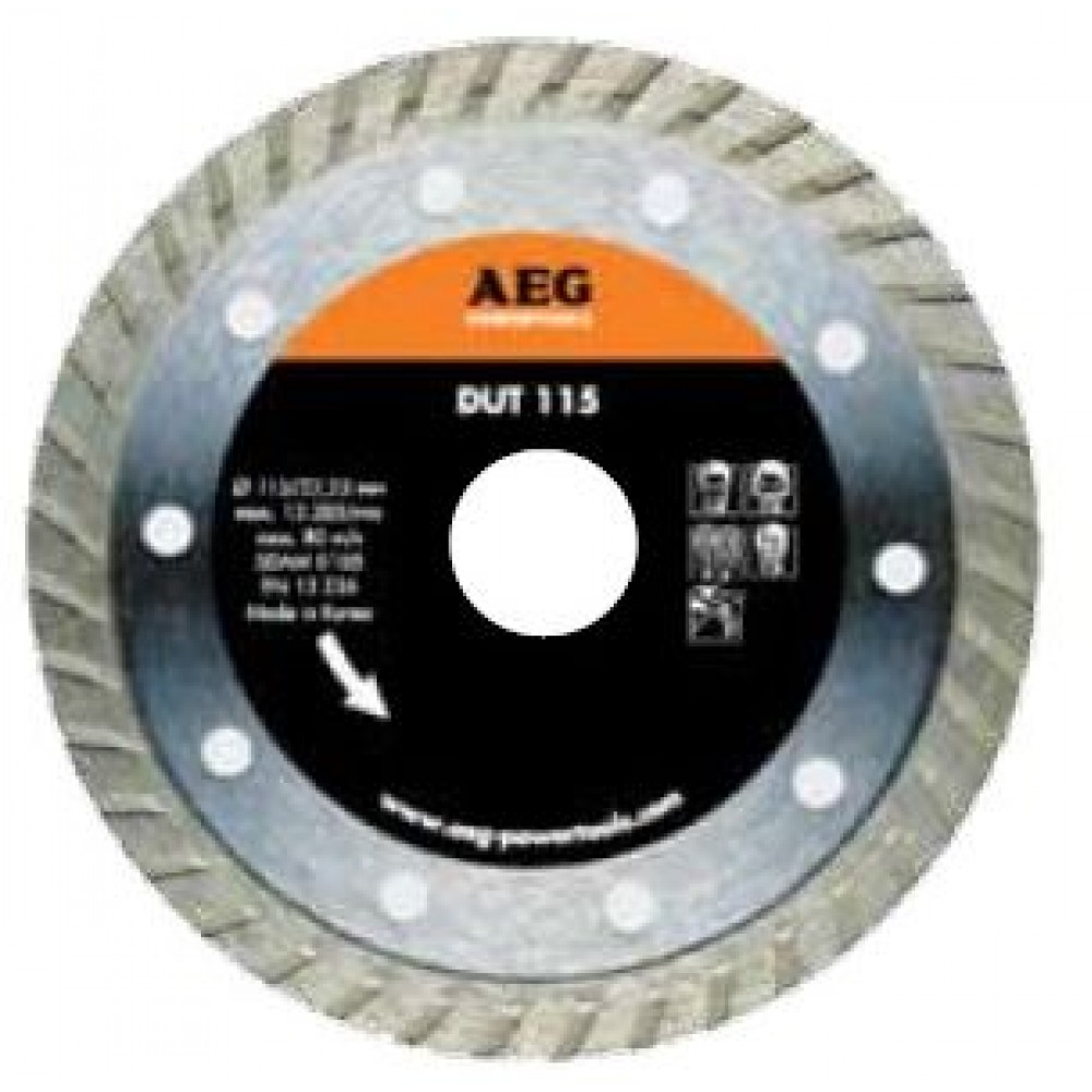 AEG DIAMOND DISC WET - CONTINUOUS TYPE