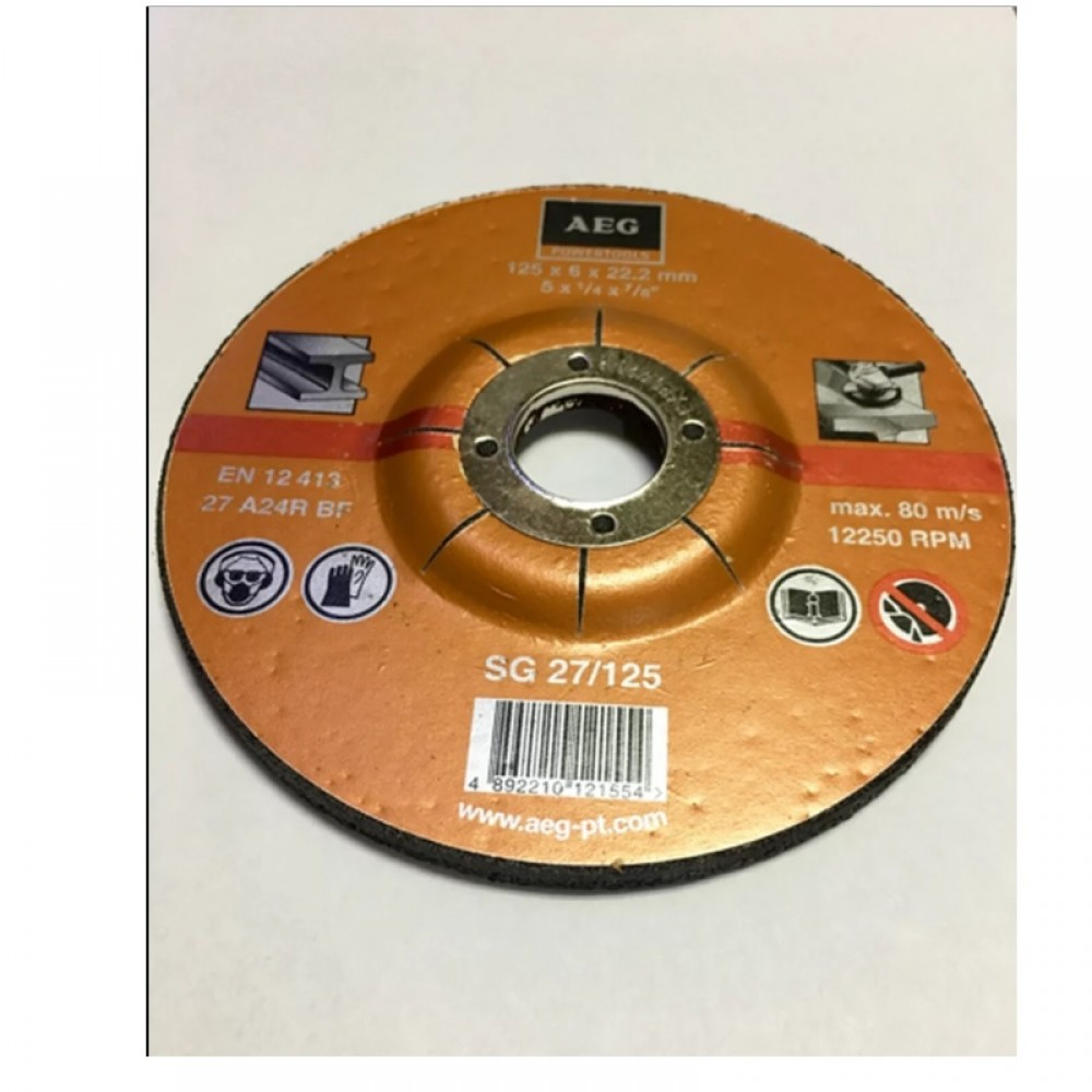 AEG METAL GRINDING DISC 180MM