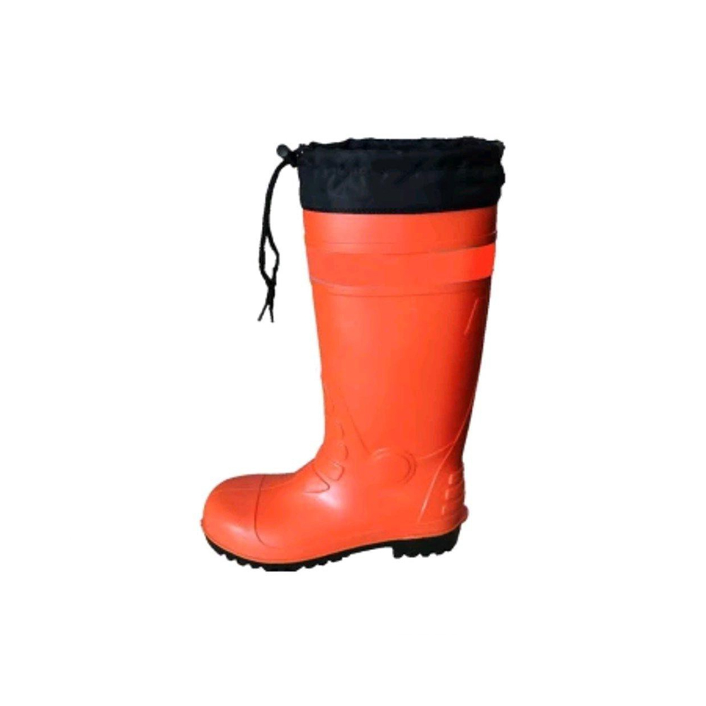 ARJUNA Tied Rubber Boot Orange