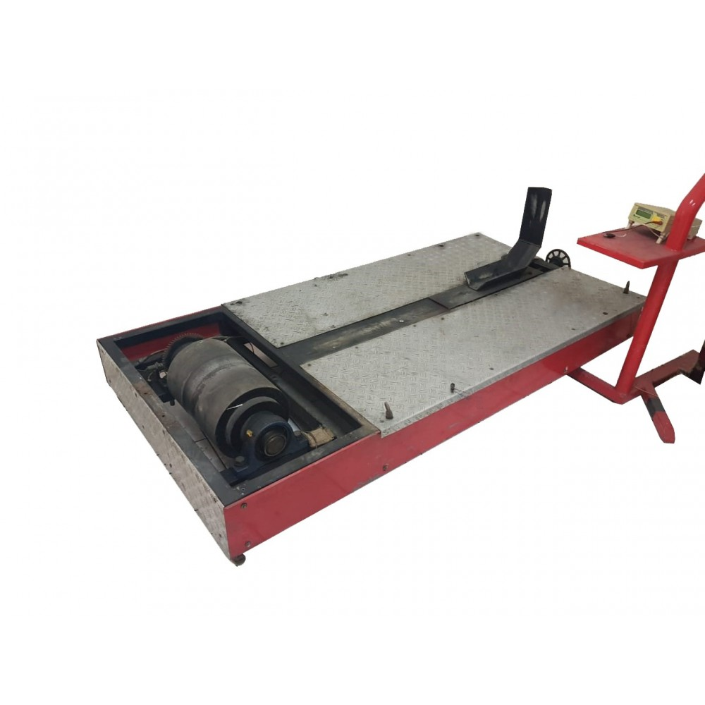 SENSORS - Portable Motorcycle Chassis Dynamometer