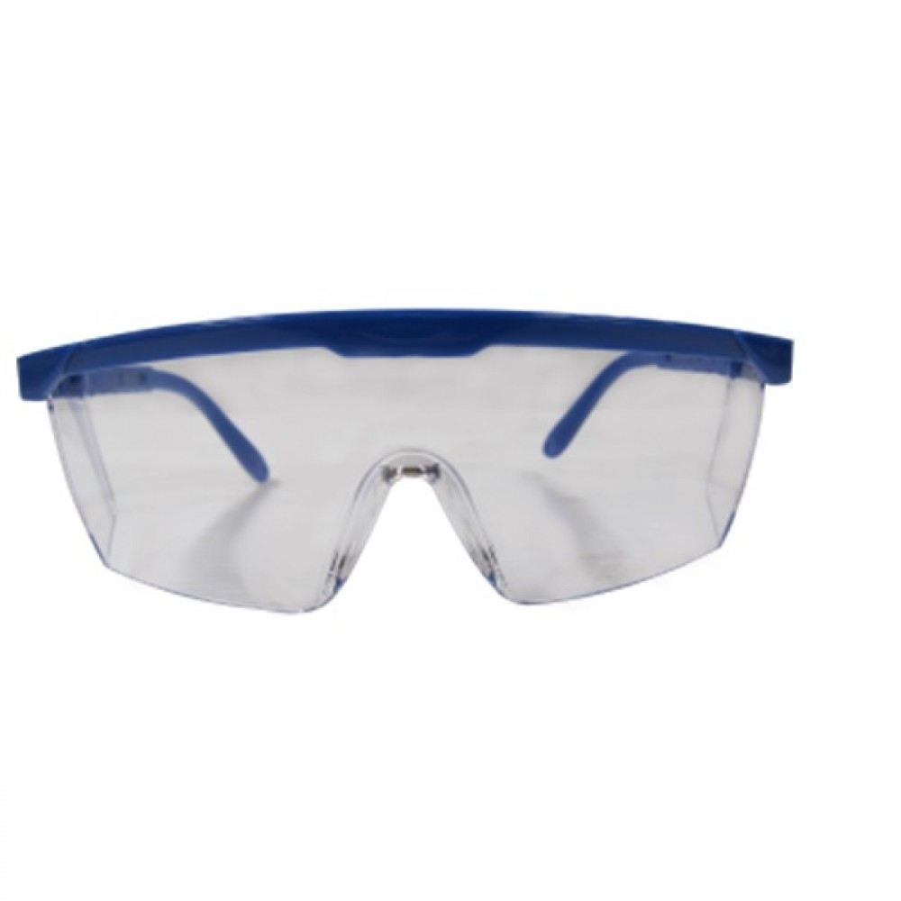 BE SAFE KACAMATA SAFETY BS – 026 (BLUE FRAME,CLEAR MIRROR LENS,HC )